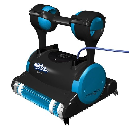 Dolphin 99996356 Dolphin Triton Robotic Pool Cleaner with Caddy (Large Image)