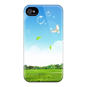 Awesome Design Peaceful Life Hard Case Cover For Iphone 4/4s