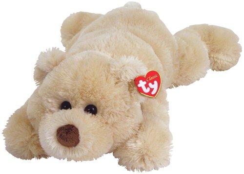 Ty Fletcher - Cream Laying Bear by Ty