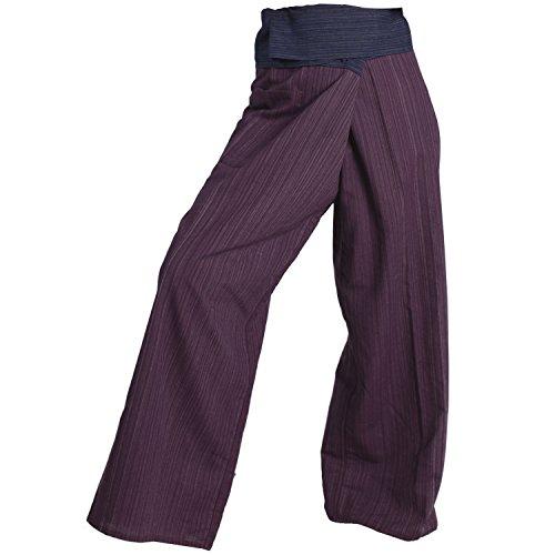 [Chloe 2 Tone Fisherman Pants Harem Yoga Baggy Genie Boho Plus Size Extra Long (Blue-Maroon),Extra Long Fits] (Pregnant Quinn Costume)