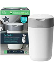 Tommee Tippee Twist and Click Advanced Nappy Disposal Bin System Powered by Sangenic (Packaging May Vary)