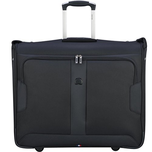 Delsey Luggage Sky Max 2 Wheeled Garment Bag, Black by DELSEY Paris
