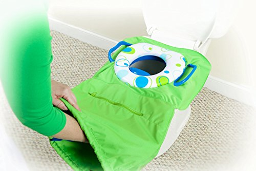 (Pack 'n Potty Travel Potty Seat - An All-in-one Solution for Public Restrooms (Royal))
