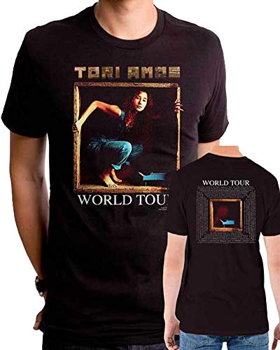 (Tori Amos World Tour Mens Premium Soft Fit T-Shirt Black (XL))