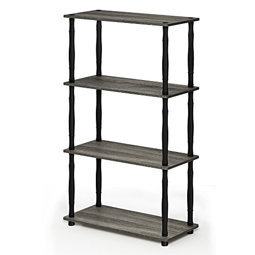 Convenience Concepts French Country Bookshelf Ladder Dark Cherry 8043391CH