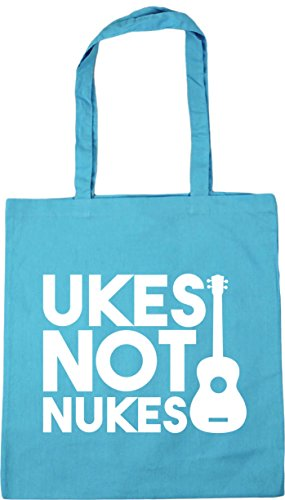 10 Bag x38cm Tote litres HippoWarehouse Not Surf Gym Ukes Blue Beach 42cm Shopping Nukes axqAUgnv