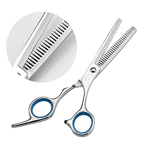 Professional Hair Scissors Set for Barber Hairdresser, getmycom Sharp Safe Comfortable Hair Shears Haircut Scissors Texturizing/Thinning Shears Kit for Men and Women by getmycom (Image #4)