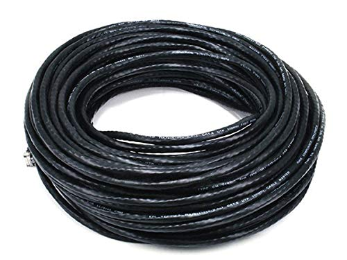 iMBAPrice - Cat5e Molded Network Patch Cable (100 Feet, Black)
