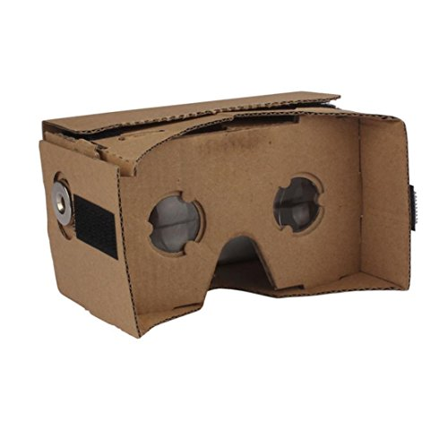CoperDIY Cardboard Quality 3D Vr Virtual Reality Glasses For Google