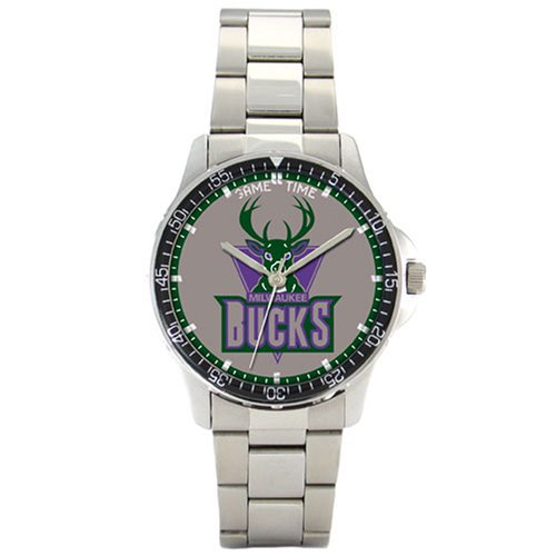 NBA Men's BC-MIL Milwaukee Bucks Coach Series Watch