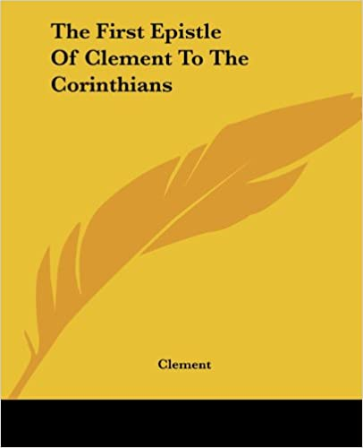 First Epistle of Clement