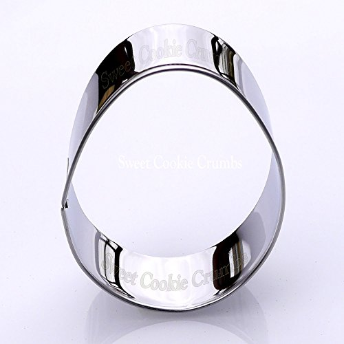 Easter Egg Cookie Cutter- Stainless Steel