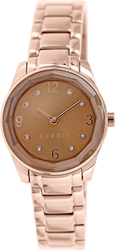 Esprit es106552006 28mm Rose Gold Steel Bracelet & - Esprit Watch Women Gold