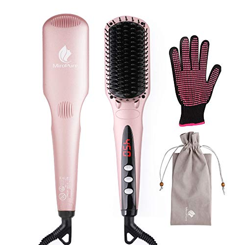 Enhanced Hair Straightener Heat Brush by...