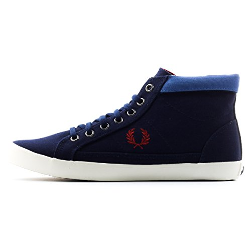 Donne Fred Perry Riley Tela Blu Carbonio 6