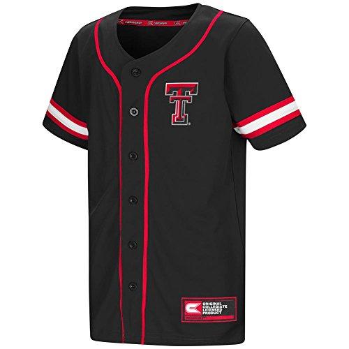 Colosseum Youth Texas Tech University Baseball Jersey (YTH (12-14))