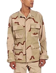 Propper Men's BDU Coat, 3 Color Desert, Medium Short