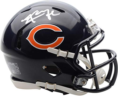 Authentic Autographed Nfl Mini Helmet - Khalil Mack Chicago Bears Autographed Riddell Speed Mini Helmet - Fanatics Authentic Certified - Autographed NFL Mini Helmets