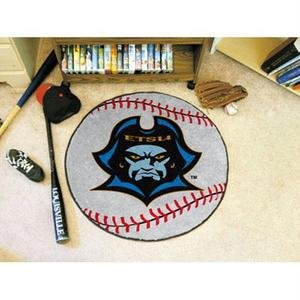 Tennessee Baseball Rug - Fanmats East Tennessee State University Baseball Rug