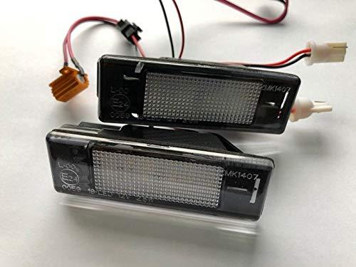 2 x TOP Module SMD LED 18 LEDs Kennzeichenbeleuchtung Nummernschildbeleuchtung 307N