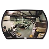 See All® Round 160° Convex Security Mirror MIRROR,CONVEX 5002NSS11 (Pack of2)