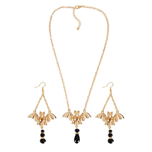 iWenSheng Fashion Halloween Necklace Earrings