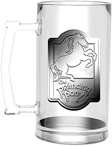 GYE GLF0020, Jarra de cerveza Prancing Pony El Señor de los Anillos, 0,5 litros: Amazon.es: Hogar