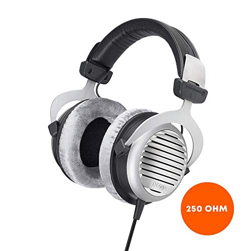 beyerdynamic DT 990 Premium Edition 250 Ohm Over-Ear-Stereo Headphones. Open design, wired, high-end, for the stereo system (Beyerdynamic Dt 880 Premium 600 Ohm Headphones)