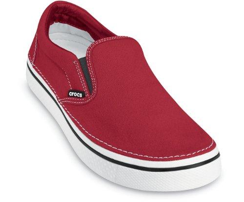 white Hover Crocs On Slip true Adulte Multicolore Basses Mixte Baskets Red arqvd