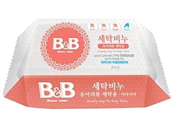 [B& B] b& b Laundry Soap for Baby Clothing [(Acacia) - 200g 1EA] BBCA