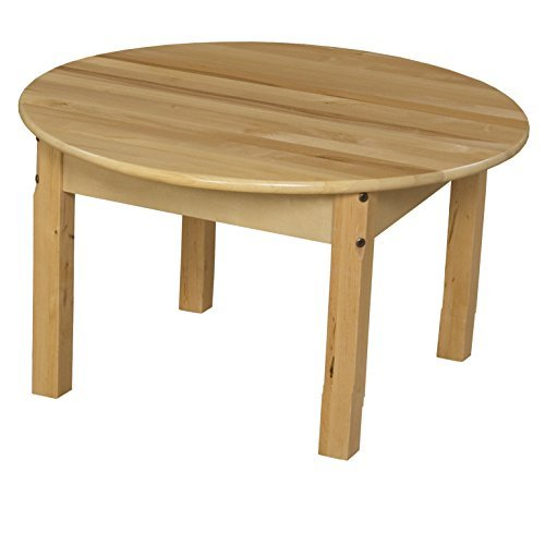 Wood Designs WD83016 30 Round Hardwood Table with 16 Legs Natural [並行輸入品] B07H1YVQ1C
