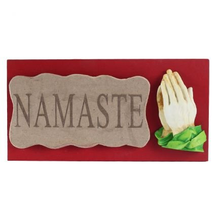 "Earth ""Namaste Mural "" (Multicolor, 10.5 x 2 x 5.5 In) Ashtrays at amazon"