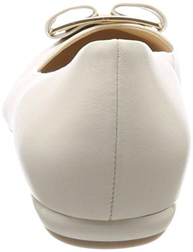 Högl Damen 5-10 1080 1400 Geschlossene Ballerinas Weiß (Ivory)