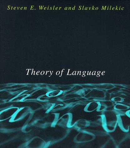 Theory of Language (MIT - Theory Of Language