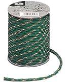 キャプテンスタッグ キャンプ テント カラー ロープ 紐  径5mm×20m グリーンM-9196
