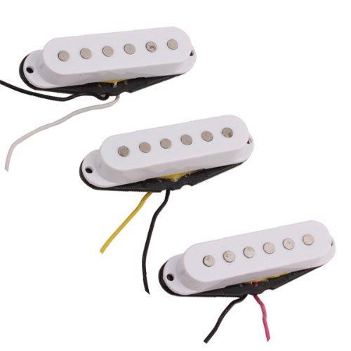 Single Coil Guitar Pickups Set of 3 White - 7