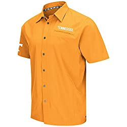 COLOSSEUM MENS TENNESSEE VOLUNTEERS BEACON CAMP SHIRT (S)
