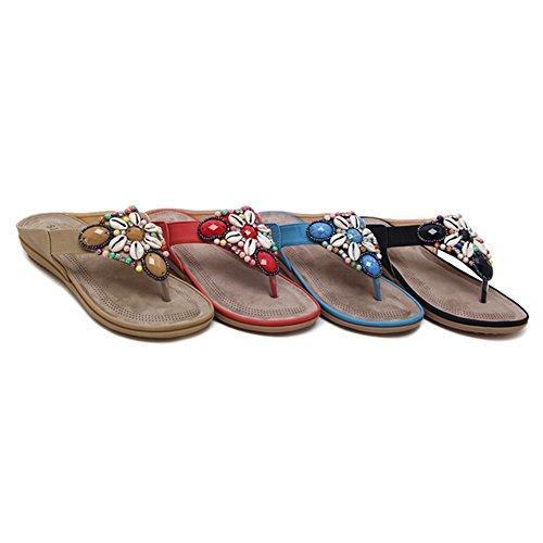 Scarpe Sandali Strass Infradito Ciabatte Disponibili Strass Paillettes 5 Tingting Colori Pantofole Pattini Albicocca 4 per Cucire Taglie Manuale UqnB5ww