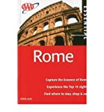 AAA Essential Rome (AAA Essential Guides: Rome) by Jane Shaw front cover