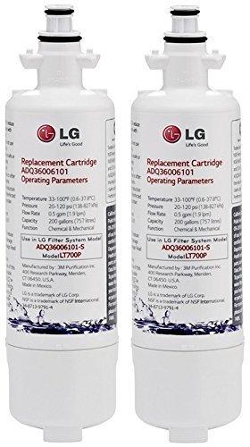LG LT700P water filter 2 Pack white ()