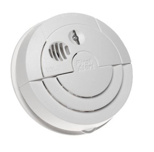 Alarm Long Life Lithium Battery - First Alert SA97C Long Life Lithium Power Smoke Alarm