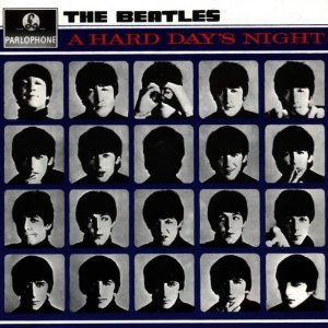 A Hard Day's Night [Stereo] (Vinyl) UK Parlophone (The Beatles Vinyl Stereo)