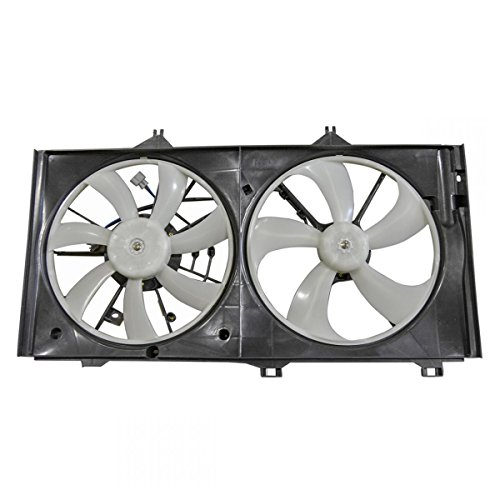 Dual Radiator Cooling Fan Assembly for Toyota Venza Avalon Camry Lexus ES350 ()