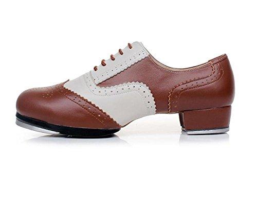 en Claquettes Pompes nbsp;Rogue pour Chaussures souples nbsp;Semelles femmes 36To42 brown cuir Taille YqFw8x6d