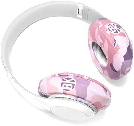 Beat Kicks Protective Headphone Covers Regular, Rose Gold Camo