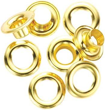 General 1261-4 #4 Brass Grommet Refills 12 Count
