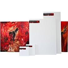 "Gallery Blank Stretched Art Canvas 48""x36"" (4'x3') 1.5"" Depth"