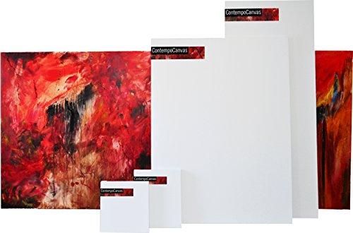 "Gallery Blank Stretched Art Canvas 24""x12"" (2'x1') 1.5"" Depth (24""x12""x1.5"")"