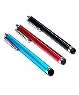 BlastCase 3 Pack of Stylus Black Blue Red Universal Touch Screen Pen for Ipad 2 Ipod Iphone 4 4S 3g 3gs, 4s, Motorola Xoom, Samsung Galaxy Tab 8.9 10.1, Blackberry Playbook HTC Flyer Evo View Tablet