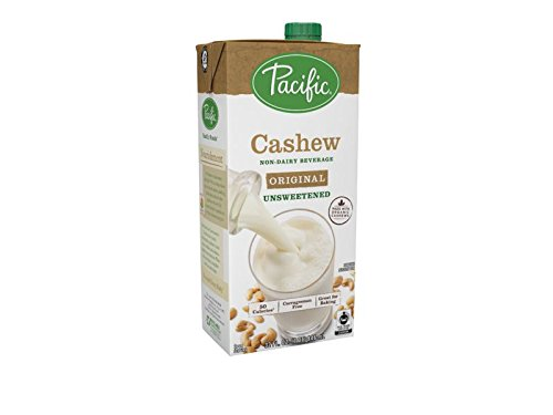 Pacific Foods Fair Trade Made with Organic Cashew, Unsweetened, 32 oz by Pacific Foods
